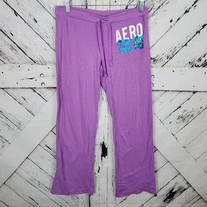 Aeropostale Purple Sweatpants S